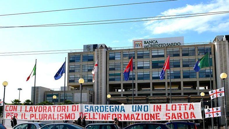 Striscione Sardegna Uno