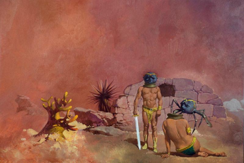 D'Achille John Carter di Marte