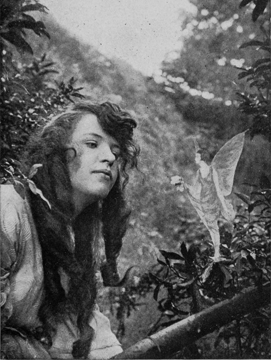 The Hairbell Fairy, featured in Conan Doyle's The Coming of the Fairies (1922)