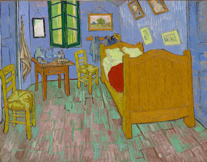 Camera da letto Van Gogh originale