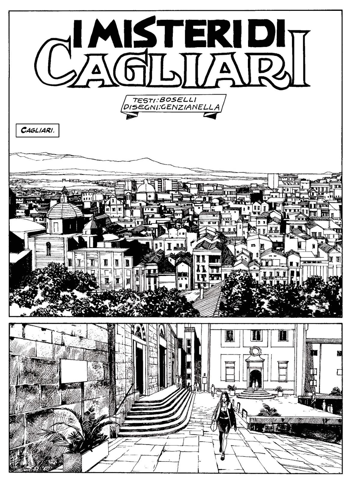 Testata Dampyr 193 Cagliari